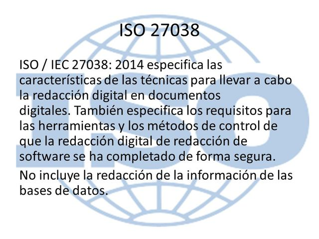 ISO/IEC 27038