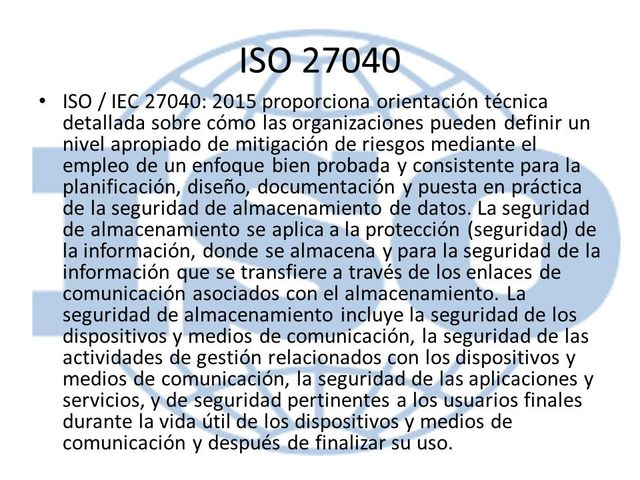 ISO/IEC 27040