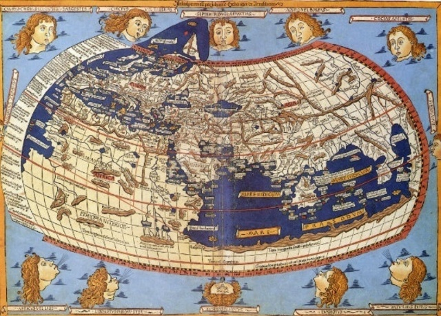 Ptolemy's World Map Continued