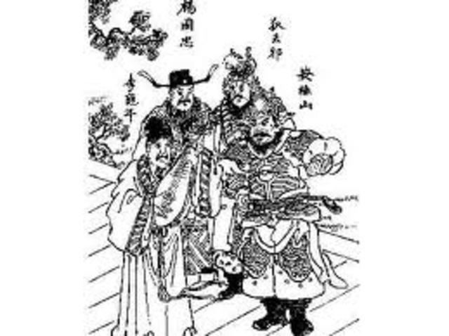 An Lushan's Rebellion