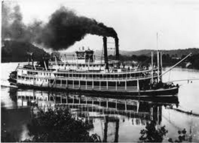 Invention of the Steamboat