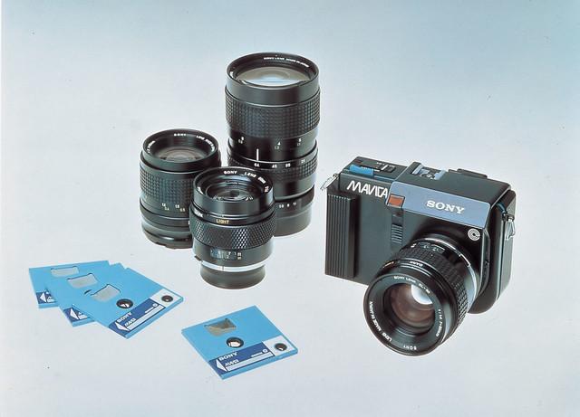 Sony Mavica almacenaba en disquetes