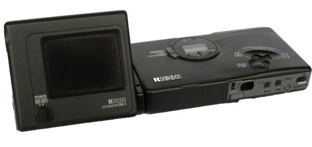 Ricoh RDC-1, la primera que grabó vídeo