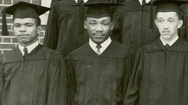 graduates from Morehouse College with Bachelor's Degree in sociology
