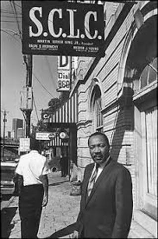 Southern Christian Leadership Conference forms in Atlanta and elects MLK as president