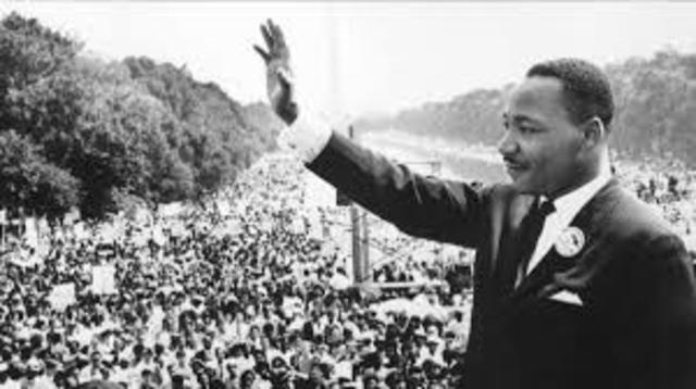 """King says his """"I Have a Dream"""" speech"""