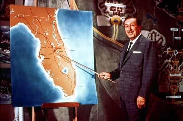 Mr. Disney Announces Park Plans