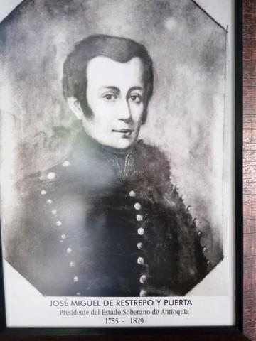 Don José Miguel de Restrepo y Puerta