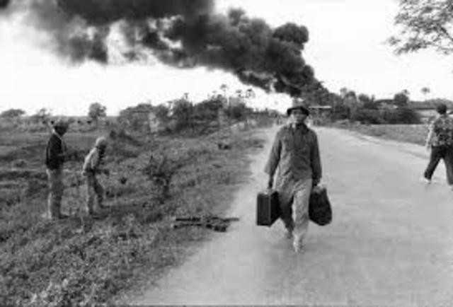 """Fin de la Guerra """"La guerra de Vietnam"""""""