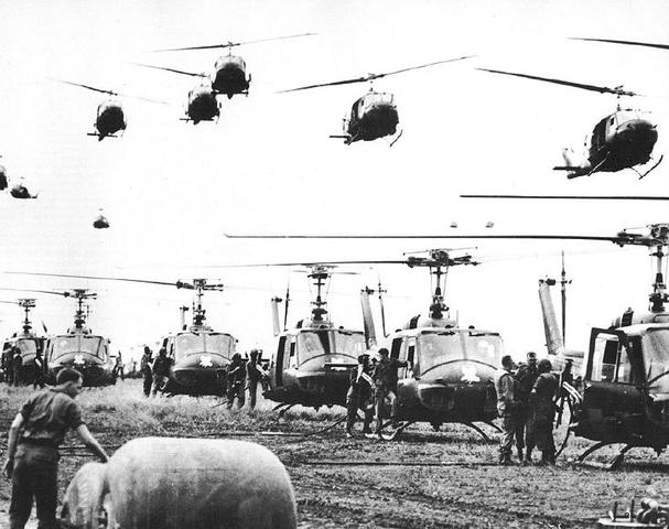 GUERRA DE VIETNAM - EEUU interviene en la guerra