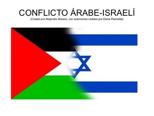 "Medio Oriente ""Conflitcto Arabe e Isrraeli"