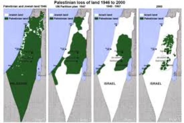 """Estado judio de Palestina """"Conflicto Arabe Isrraeli"""""""