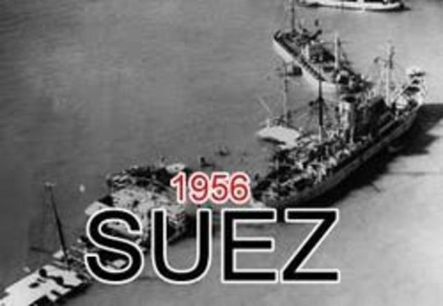 """La guerra de Suez """"Conflicto arabe isrraeli"""""""