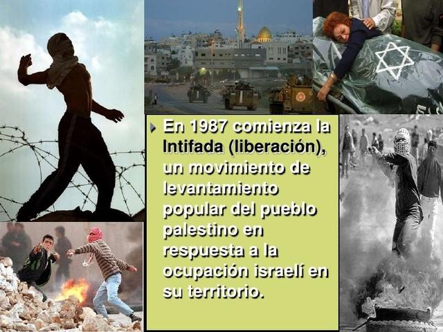 "Intifada ""Conflicto arabe isrraeli"""