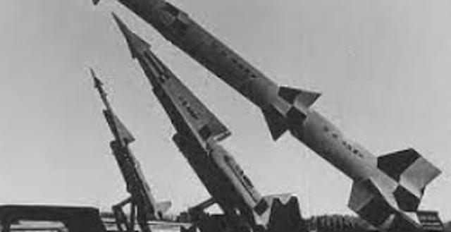 """Aviones espías estadounidenses """"Crisis de los misiles de Cuba"""""""