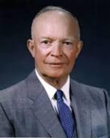 GUERRA DE COREA - Dwight Eisenhower
