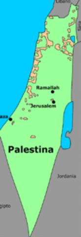 Organizaciones sionistas luchan por la creacion de un estado  judio en palestina