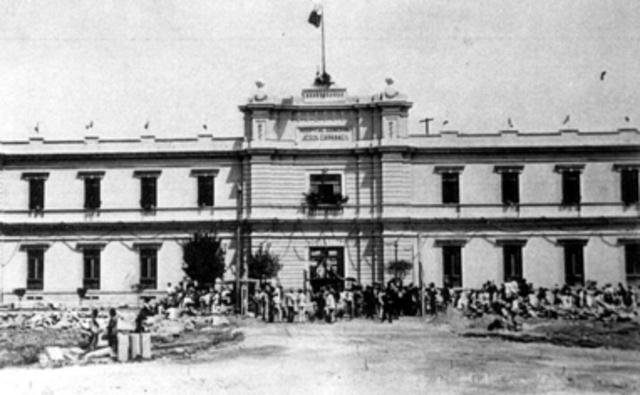 Primer Escuela de Enfermería en América