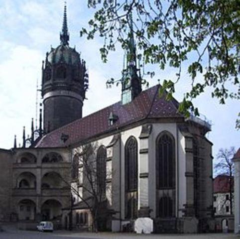 Lutero inizia la riforma