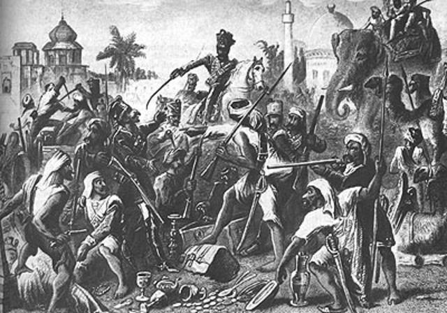 se da la primera guerra de independencia  para india