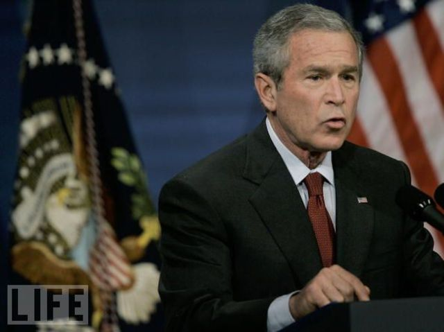 President Bush Talking About  Bin Laden Again