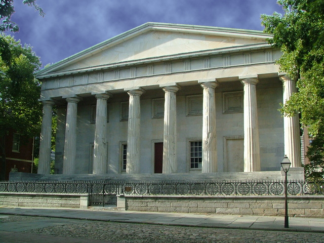 The Second Bank of the United States chartered
