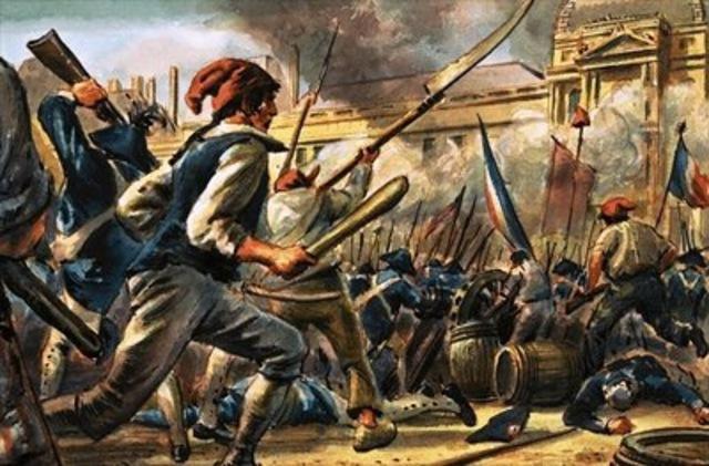 Le prime rivolte