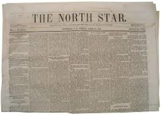 Publishes The North Star