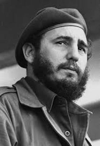 se da la revolucion dfe Fidel Castro