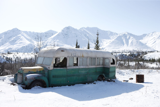 Magic Bus- On the road shelter comes in many forms.
