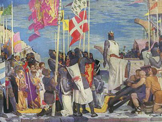 Начало третьего крестового похода