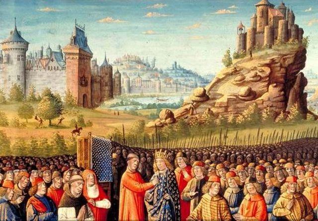 Начало шестого крестового похода