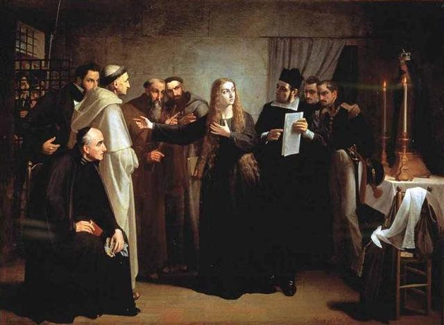 Mariana Pineda en capilla