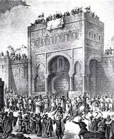 Invasió Musulmana a la península.