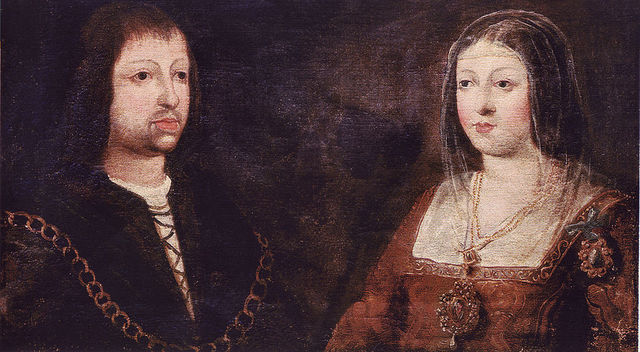 Isabel i Fernando II uneixen els seus regnes