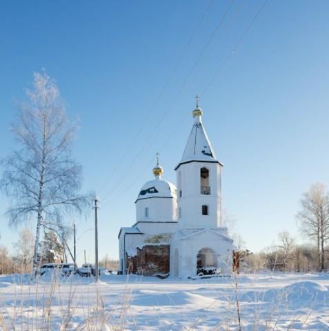 Златоустовская церковь в Лежневе