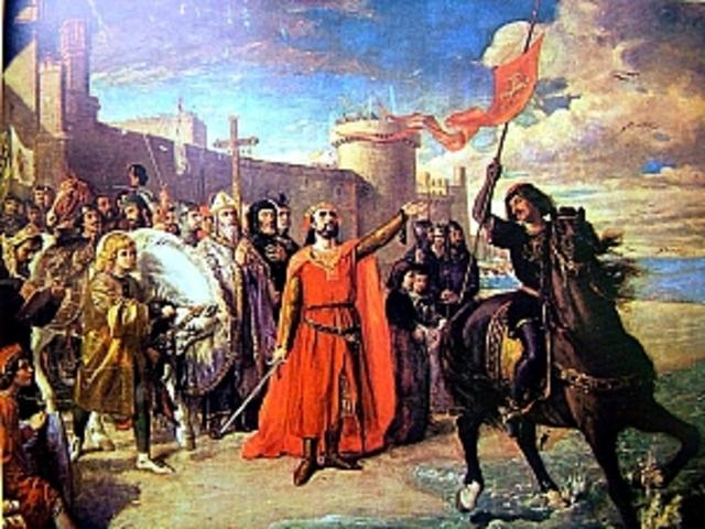 Els bizantins culminen la conquesta d'Itàlia.