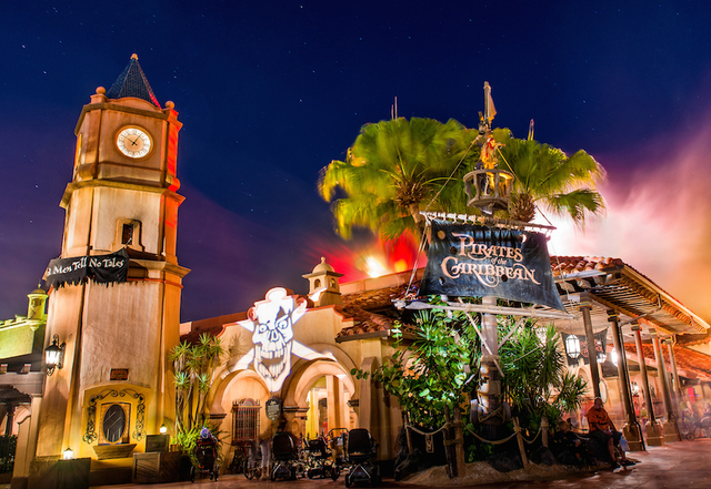 Pirates of the Caribbean Attraction Opens