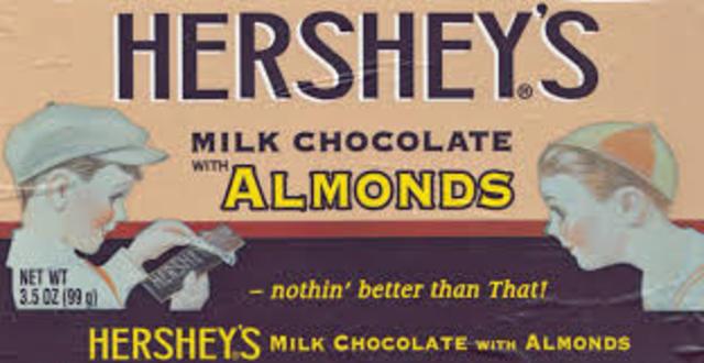 Hershey's almond bar