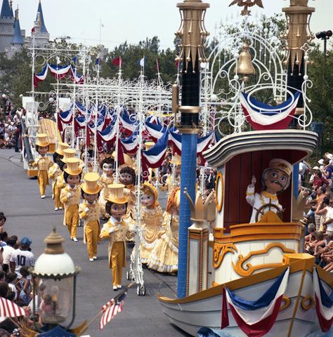 """America on Parade"" at Magic Kingdom"