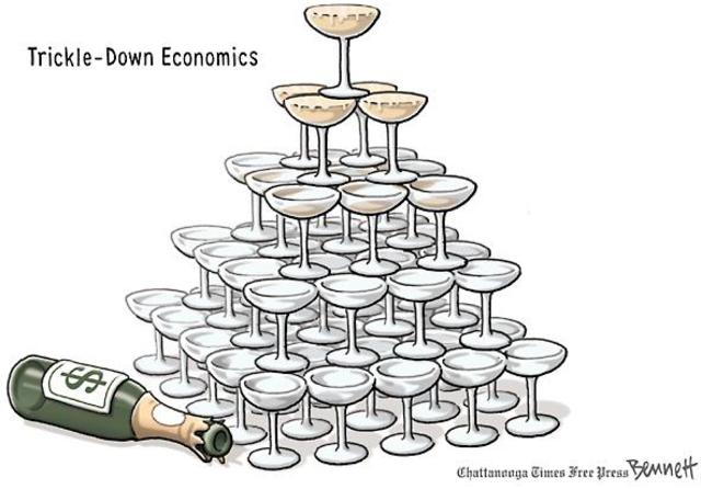 Trick Down Economics
