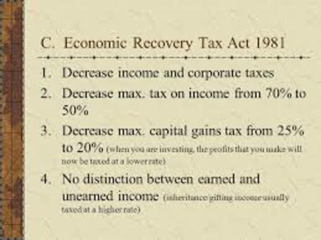 Economic Recovery Tax Act