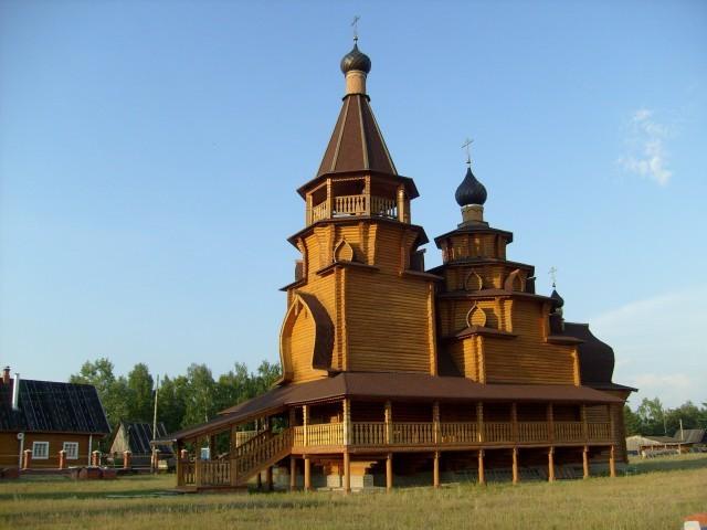 Свято-Никольская церковь, Южский р-н, пос. Моста