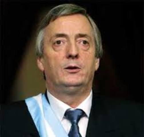 Presidencia Nestor Kirchner