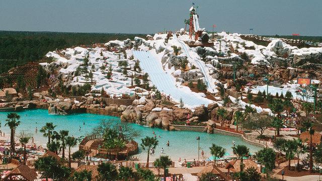 Disney Opens its Blizzard Beach