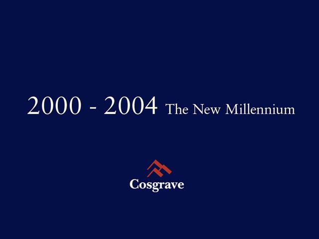 2000 - 2004 The New Millennium