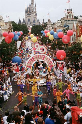 Disney Resort Celebrates 20 Years with Parade