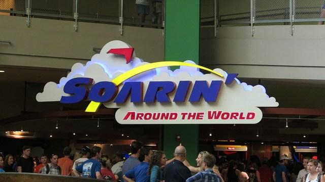 New Ride: Soarin' Debuts at Epcot