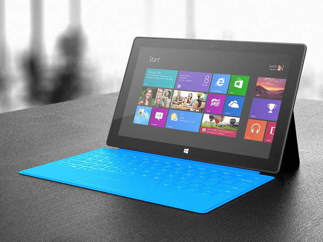 Microsoft Releases The first Surface