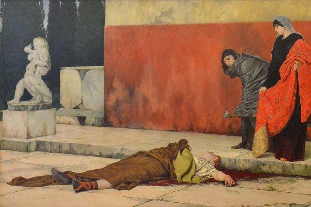 Nero's Suicide